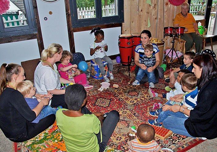 Ein Kinderfest mit vielen Sprachen