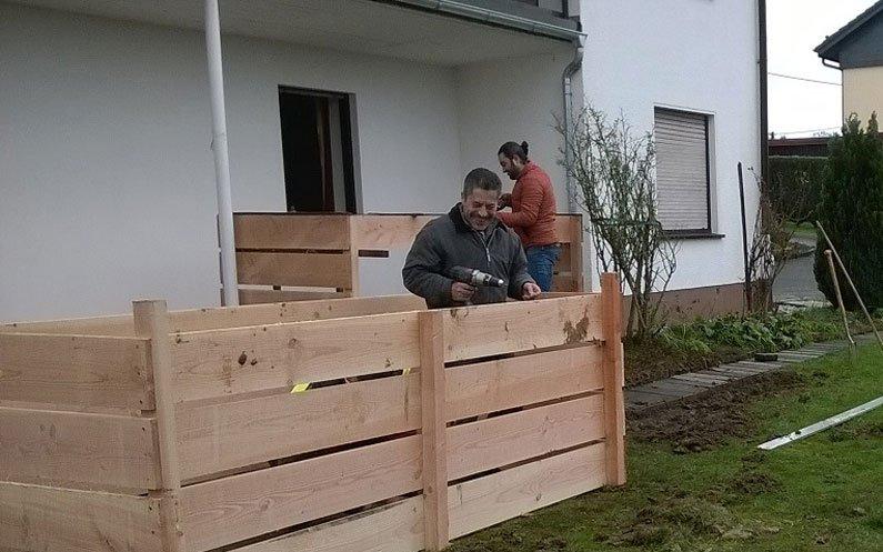 Interkultureller Biogarten Flüchtlingshilfe Wiehl