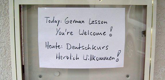 BSV Bielstein startet mit Deutschkursen für Flüchtlinge