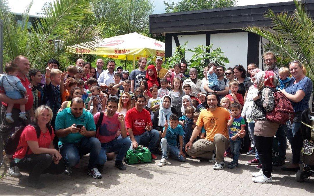Ausflug in den Affen- und Vogelpark Eckenhagen