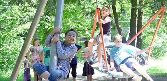 Sommerfest für und mit Flüchtlingskindern