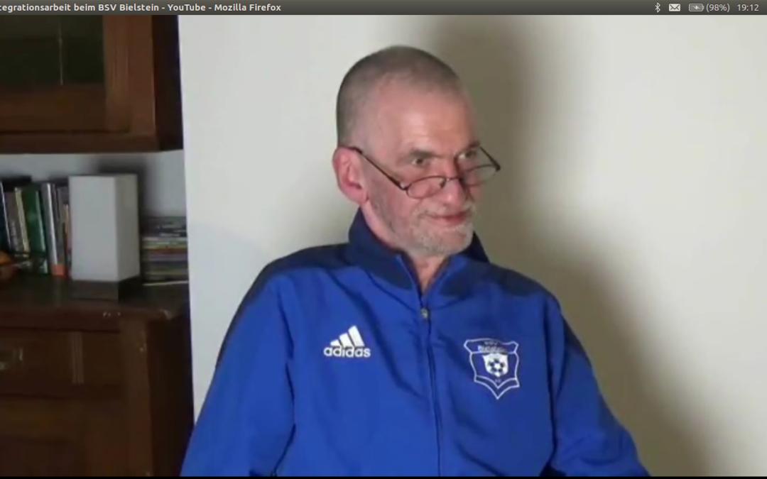 Das Gesicht hinter der Integrationsarbeit beim Bielsteiner Sportverein
