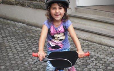 Gespendete Fahrräder kommen super an