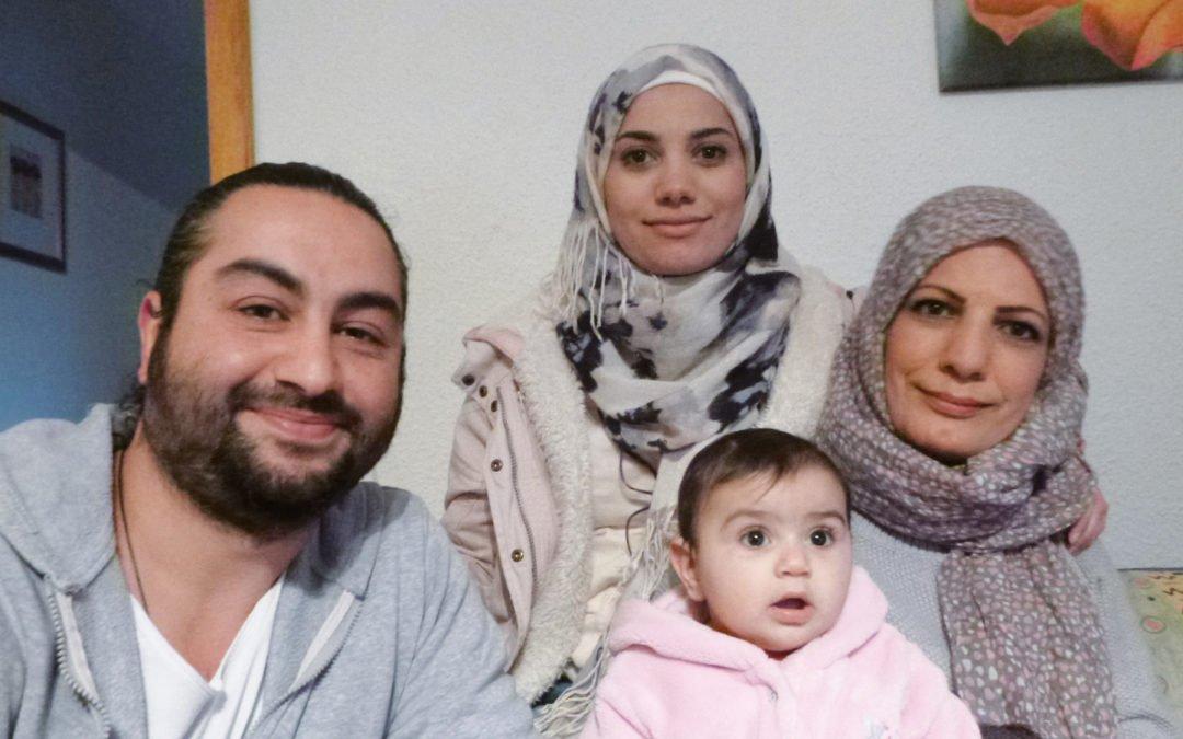 """""""Offen gefragt – ehrliche Antwort"""": Familie Khansheikhouni"""