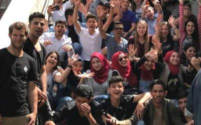 Zu Gast bei Freunden – DBG Wiehl besucht internationale Flüchtlingsklassen in Siegen