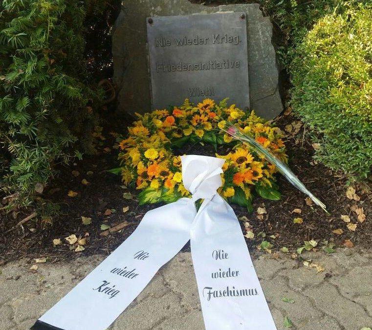 Gedenkstunde zum Antikriegstag