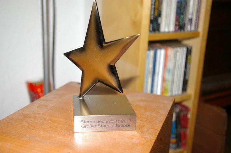 """BSV Bielstein gewinnt beim Wettbewerb """"Sterne des Sports"""" den ersten Preis"""