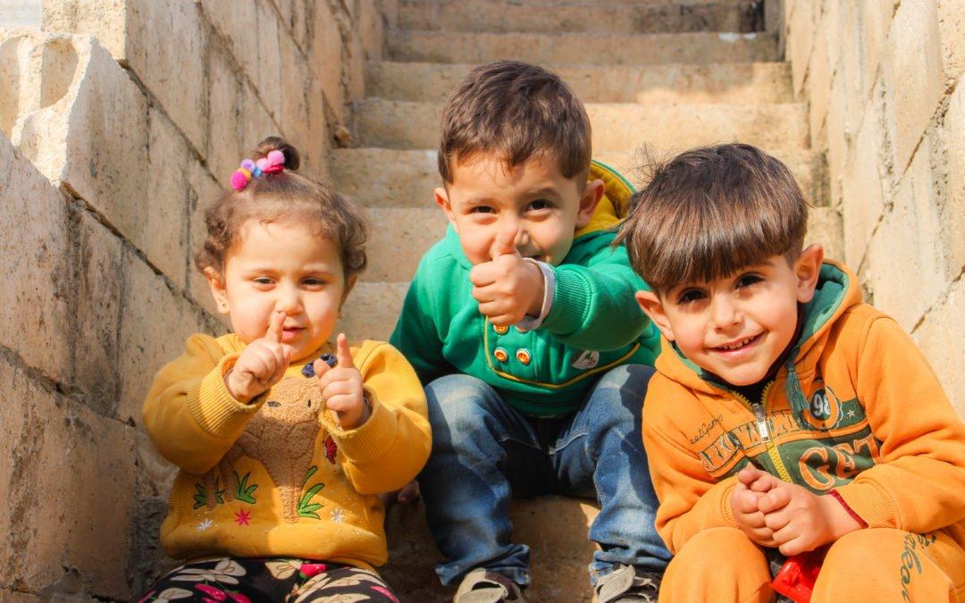 Wer betreut Kinder und Babys während des Deutschkurses?