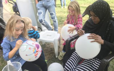 Sommer, Spiele und viel Spaß beim Kinderfest zum Weltkindertag