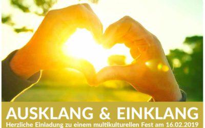 Einladung zum multikulturellen Abschlußfest AUSKLANG & EINKLANG