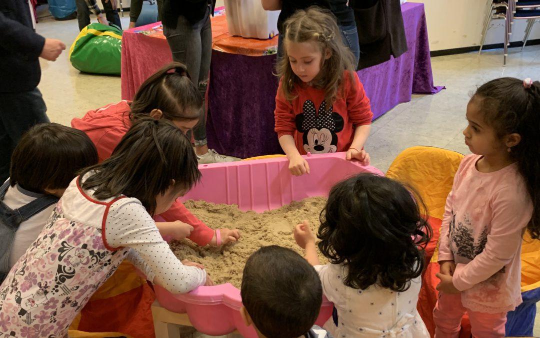Frühlingsfest der Flüchtlingshilfe Wiehl – ein gelungener Nachmittag vor allem für Kinder