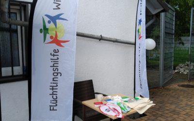 Flüchtlingshilfe beim Tag der offenen Tür des BSV Bielstein